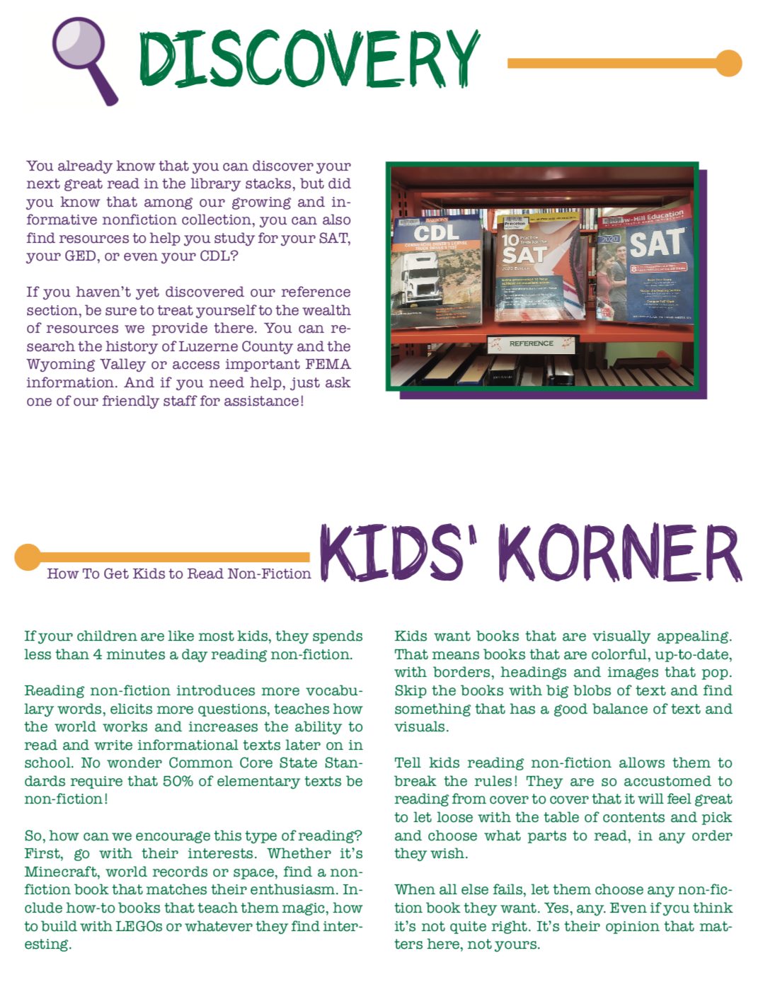 Winter Newsletter page 3 2019-2020